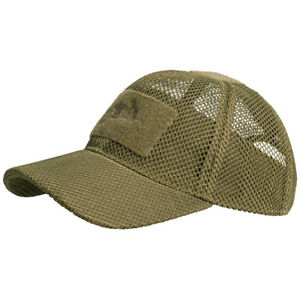 Helikon-Military-Tactical-Mesh-Baseball-Cap-Operator-Cadet-Breathable-Hat-Coyote