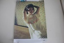 IU Palette 4th Album Official Unfolded Poster Bromide with hardtube