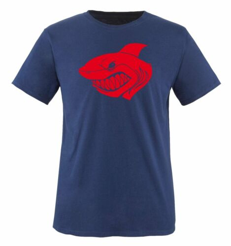 Comedy Shirts-shark-T-Shirt hommesRequin Mer Eau