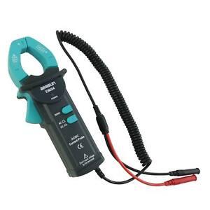 allsun 600A DC//AC rms Current Probe Handheld AC//DC Clamp Meter 50Hz-60Hz CAT III