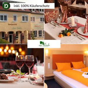 6 jours de congé dans Silz dans la forêt Pfälzer dans l'hôtel de Linde avec halbpension  </span>