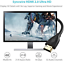 thumbnail 2 - Syncwire HDMI Cable 6.5 ft HDMI 2.0 ( Hz) - [High Speed, Gold-Plated] HDMI to HD