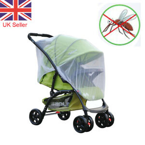 Mosquito Net for Stroller Pushchair Fly Insect Mesh Cover Infant Baby Zipper