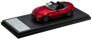 Hi Story 1/43 MAZDA Roadster (2015) âme rouge premium Métallique