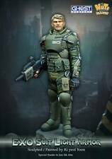 Nutsplanet Exo Suit Light Armour Ghost Company Unpainted 90mm resin kit