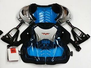 Brand New 2 x Large Body Armour V-CAN 1 x Blue 1 x Clear