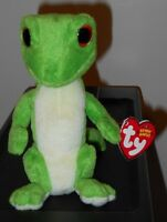 Nmt Ty Beanie Baby Gus The Gecko - Red Eyes - Mint With Near Mint Tags