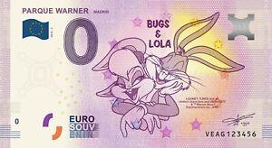 Es - Parque Warner - Madrid - Bugs Et Lola - 2018 Eoojlaaj-08001813-110723311