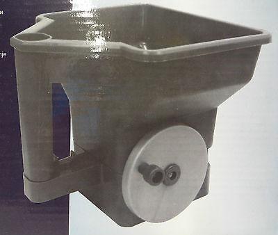 AKTION 3er Pack MEROX Handstreuer Universal 3 Liter Düngerstreuer Salzstreuer