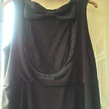 BNWNT MONSOON SIRAH BOW DRESS, 22, XL, STUNNING DRESS, LACE,BOW,  RARE