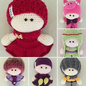 Handgemacht Puppen Handmade Dolls Häkeln Spielzeug Häkeln Puppen