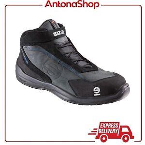 new product 042b2 f1580 Dettagli su Scarpe antinfortunistiche Sparco Racing Evo NRNR S3 SRC Scarpa  Alta dal 40 al 46