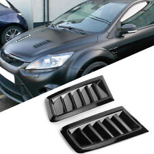 35mm Negro Brillante Bonnet..//levantadores Ford Focus MK1 RS ST