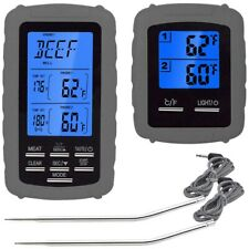 Remote Digital Barbecue Wireless Meat Thermometer, Kitchen Cooking Food The J5S2