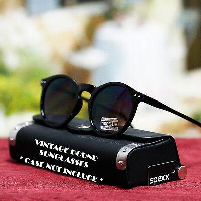 Classic Vintage Design Pastel Color Sunglasses Retro Round Men's Women's New