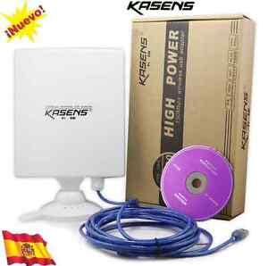 ANTENA USB ADAPTADOR WIFI KASENS N9600 Antena 80dbi 6600mw 6000mw 9000wn 6800mw