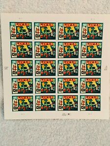 Latin-Jazz-42C-USA-Stamps-Full-Sheet-MNH