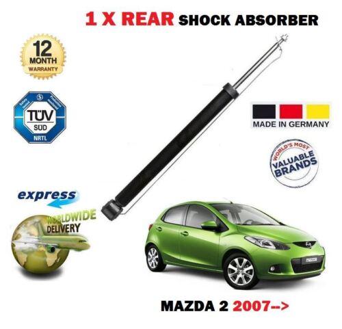 FOR MAZDA 2 2007/>/> 1.3 1.4 1.5 MZ-CD MZR-CD NEW 1X REAR SHOCK ABSORBER SHOCKER