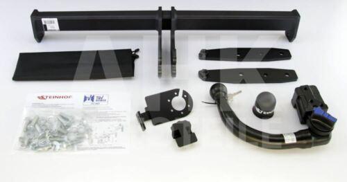 Für Volvo XC 60 I Anhängerkupplung abnehmbar+ESatz 13pol ABE
