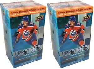 2016-17-Upper-Deck-Series-1-NHL-Hockey-10-Pack-Blaster-Box-Lot-Of-2-Brand-New