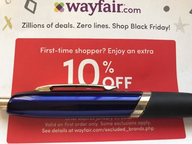 WAYFAIR.COM 10% OFF YOUR FIRST ORDER EXP 5/15/21 CODE DISCOUNT WAYFAIR COUPON