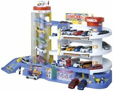 TAKARA TOMY Tomica Super Auto Tomikabiru Building Car Garage Parking F/S NEW