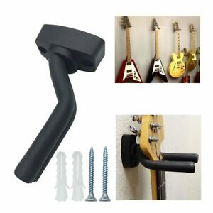 2 Pcs Guitar Hangers Rack Wall Hooks Holder For Electric
