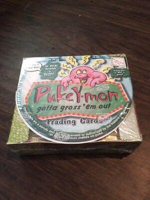 Pukey~Mon Trading Cards Factory Sealed Box ~ 36 Packs ~ Pokemon Parody ~ Pacific