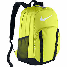 Nike 2015 Brasilia VII XL Soccer Backpack SCHOOL GYM Bag ORIGINAL New Yellow