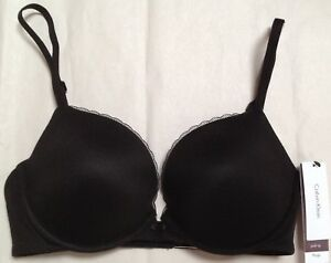6254cc2043 Image is loading NWT-CALVIN-KLEIN-EVERYDAY-PLUNGE-CONVERTIBLE-PUSH-UP-