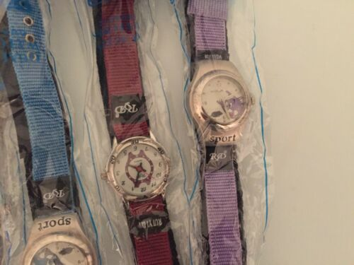 Lot De 9 Childrens Watches Tout Sortes De Couleurs