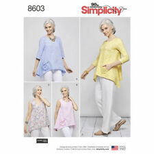 0144c31dced5 item 1 Simplicity 8603 Sewing Pattern Misses Size 6 XS - 24 XL Loose Fit  Pullover Heigl -Simplicity 8603 Sewing Pattern Misses Size 6 XS - 24 XL  Loose Fit ...
