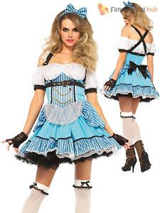 bdfa41d97035 SALE Ladies Sexy Leg Avenue Rebel Alice Fairytale Costume Halloween ...