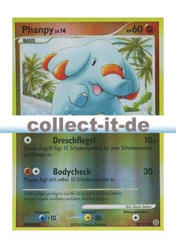 Pokemon Diamant /& Perl Rätselhafte Wunder 98//132 Phanpy Reverse Holo Deutsch