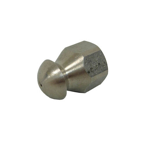 """MTM Hydro 17.0837 Fixed Sewer Jetting Nozzle SS 1//4/"""" NPTF 5.5"""