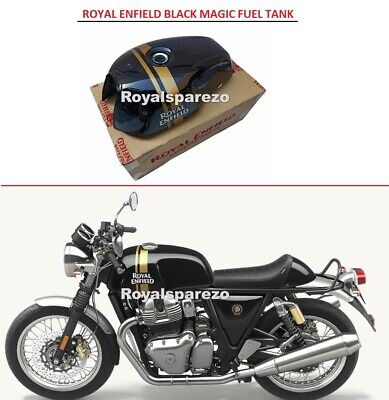 Royal Enfield GT Continental 535cc Black Painted Original Fuel Gas Petrol Tank