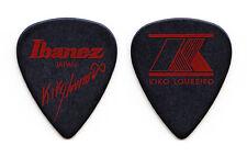 Megadeth Kiko Loureiro Signature Black Guitar Pick - 2015 Tour