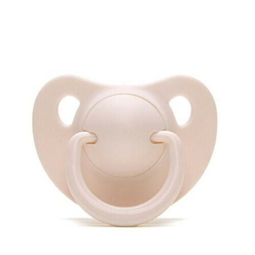 Newborn Kids Baby Orthodontic Dummy Pacifier Silicone Teat Nipple Soother new/>v