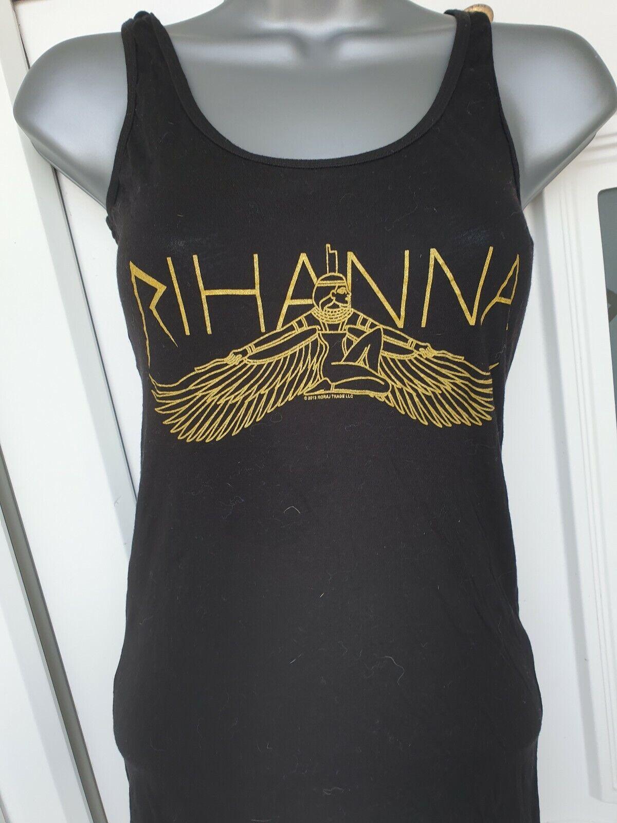 Rihanna Vest Top Concert Memorabilia