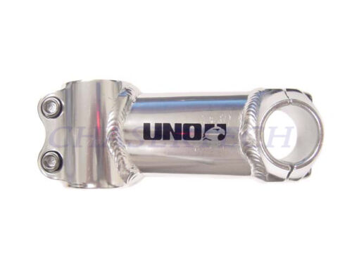 """New Uno Road Touring Bike Ahead Stem 1-1//8/"""" 100mm 0° Bore 26.0mm Silver"""