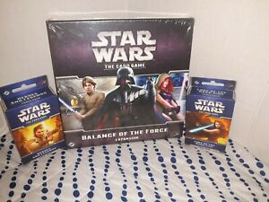 (Lot of 3) Star Wars - The Card Game- Expansion and 2 Force Packs Brand New