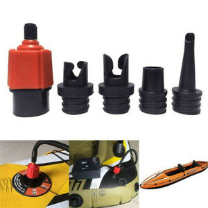Pump Adapter Inflatable Boat Air Valve Tire Paddle Board Compressor Adaptor