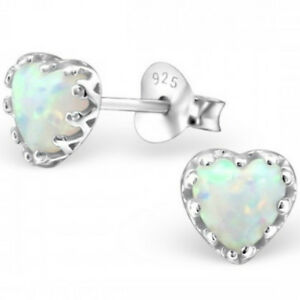 925-Sterling-Silver-and-Opal-white-milk-heart-stud-earrings-quality-UK-jewellery