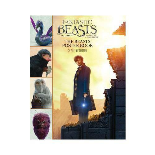 Fantastic Beasts and Where to Find Them: The Beasts Poster Book by Scholastic...