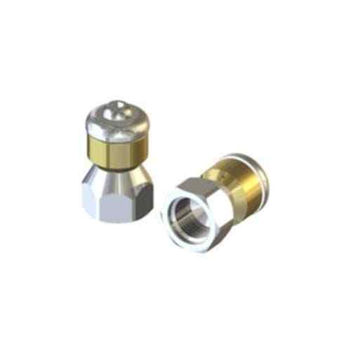 3//8″ Stainless Steel Rotating Drain /& Sewer Jetting Nozzle