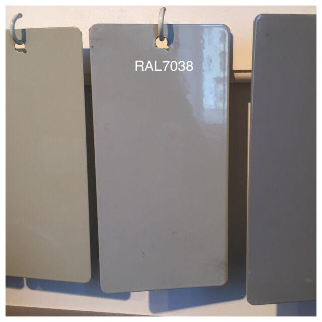 ral 7038 49 72470 agate gray powder coating paint 1lb bag ebay. Black Bedroom Furniture Sets. Home Design Ideas