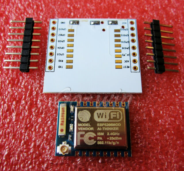 ESP8266 Esp-07 Remote Serial Port WIFI Module+ IO adapter plate Expansion M83