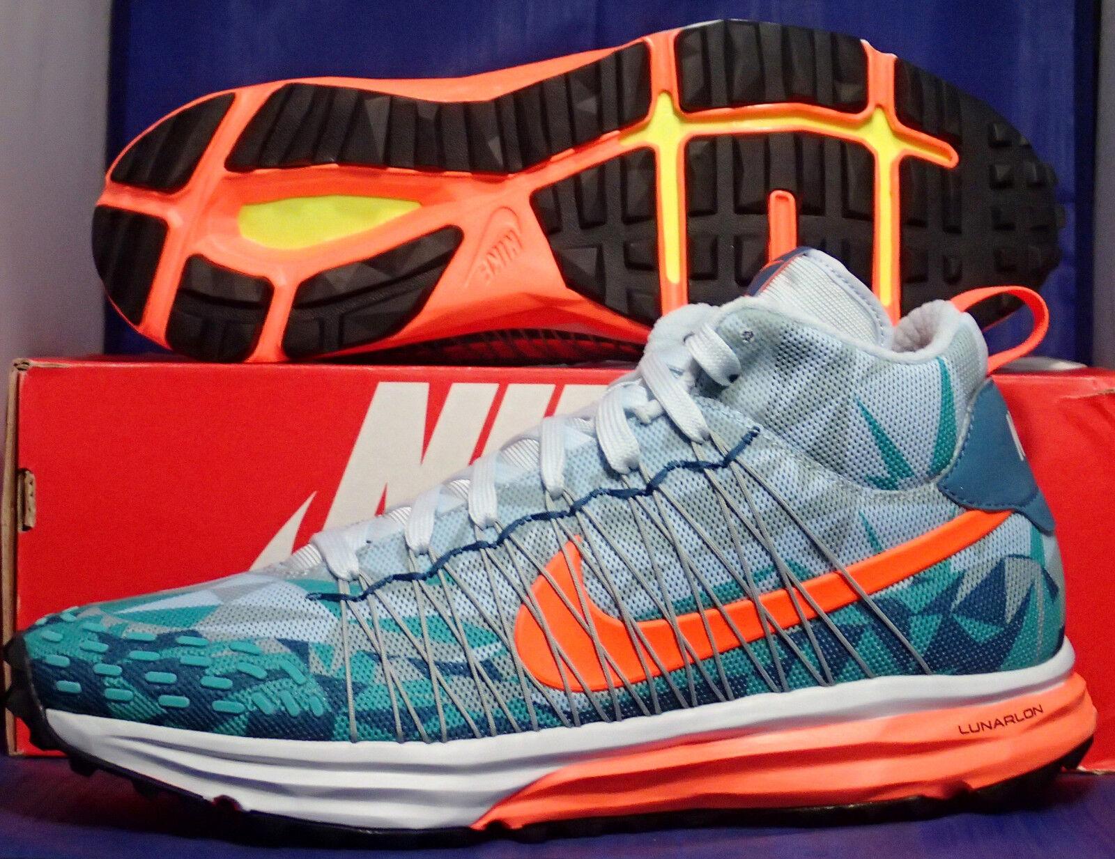 Nike Lunarfresh SneakerBotas la Antártida (684724401) Azul Naranja Tamaño 10 (684724401) Antártida 8f694e