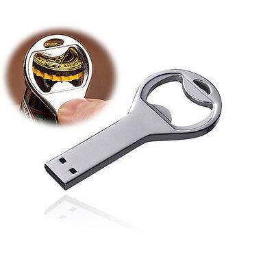 Waterproof Bottle opener USB 2.0 Memory Stick Flash pen Drive 4GB-32GB P111
