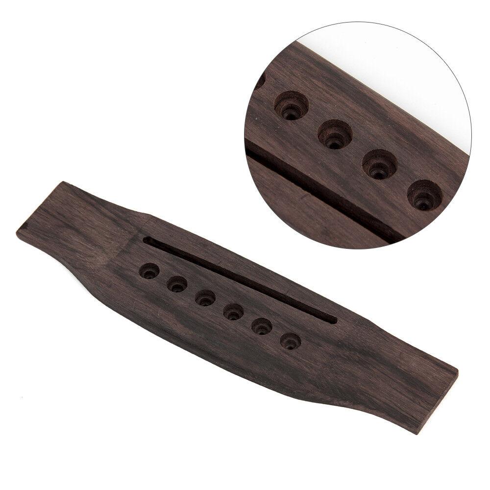 Replacement Parts For Acoustic Guitar : acoustic guitar bridge for 6 string acoustic guitar replacement parts 600685806937 ebay ~ Russianpoet.info Haus und Dekorationen